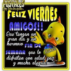 Postales Para Compartir.: FELIZ VIERNES AMIGOS!!