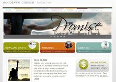 60 Of The Best Church Website Designs | Website Design Inspiration |  Pinterest | Website Designs, Churches And Website