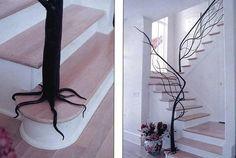 super! Un arbre qui pousse dans mon sous-sol! J'aimerais bien faire ça!