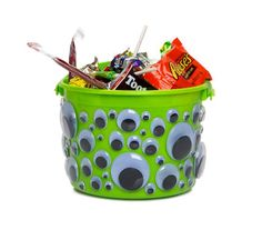 Help your kids store their loot in style with these extra fun candy carriers.