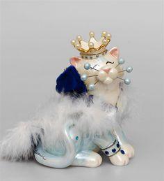 "Фигурка ""Кот Король"" CMS-31/39 (Pavone)   Бренд: Pavone (Италия);      Страна производства: Китай;   Материал: керамика;   Длина: 10 см;   Ширина: 9 см;   Высота: 12,5 см;   Вес: 0,2 кг;      #кошка"