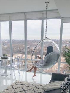 Room Design Bedroom, Girl Bedroom Designs, Bedroom Chair, Bedroom Layouts, Room Ideas Bedroom, Hammock In Bedroom, Macrame Hanging Chair, Hanging Hammock Chair, Swinging Chair