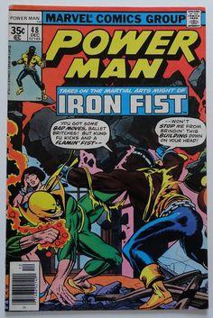 Power-Man vs. Iron Fist