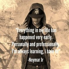 Neymar Jr Quotes, Sayings & Images Motivational Inspirational Lines, Neymar Jr quotes on life love education success leadership football training goals uefa Football Quotes, Football Love, Messi And Neymar, Lionel Messi, Neymar Quotes, Neymar Memes, Inspirational Soccer Quotes, Fc Barcelona Neymar, Neymar Jr Wallpapers