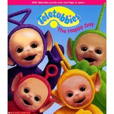 I have no idea how many episodes I watched of Teletubbies haha!