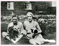 David Prince of Wales with mistress Thelma Morgan Furness. Twin sister of Gloria…