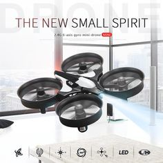 JJRC Micro Mini Drones Quadcopters Headless Mode Racing Drone Professional One Key Return RC Helicopter Toys Gifts for Kids Drones, Rc Drone, Drone Quadcopter, Drone Mini, Flight Speed, Professional Drone, Best Kids Toys, Rc Helicopter, Radio Control