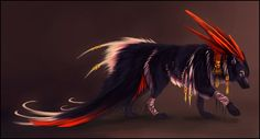 Red Feather - points auction (closed). by Noxeri on DeviantArt