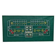 Craps Table Cover $18.00 at OrientalTrading.com