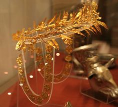 Gold Wreath and Ring, c.