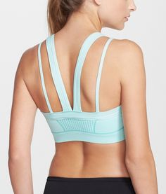 Comfy low-impact support sports bra; best for yoga/studio, walking | Zella