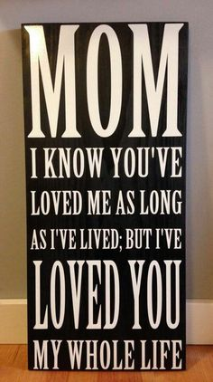 Mother's Day inspiration and appreciation quote wall art