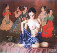 D.W.C. Chinawoman - Painter Guan ZeJu | DANCES WITH COLORS