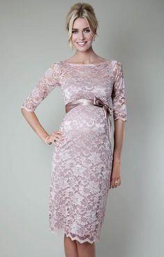 Кружевное платье для беременных - Амелия Нежная Роза