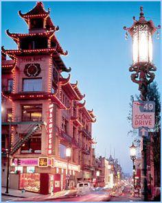 Chinatown  San Francisco, California, We felt like we were really in China here!