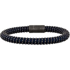Pre-owned Carolina Bucci Blue Twister Bracelet ($125) ❤ liked on Polyvore featuring jewelry, bracelets and blue