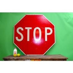 Giant Stop Sign