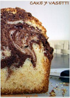 Carotina abbrustolita: Cake 7 vasetti marmorizzata