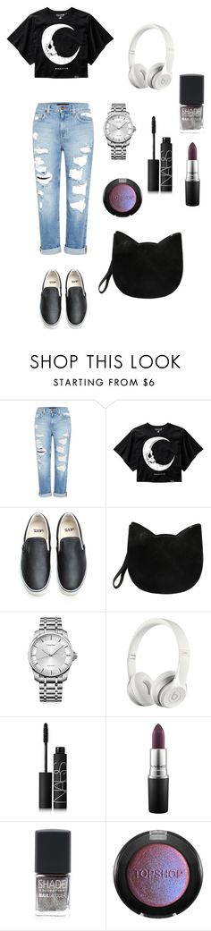 """moon"" by brindusoiu-georgiana on Polyvore featuring Genetic Denim, Vans, Forever 21, Calvin Klein, Beats by Dr. Dre, NARS Cosmetics, MAC Cosmetics, Lane Bryant and Topshop"