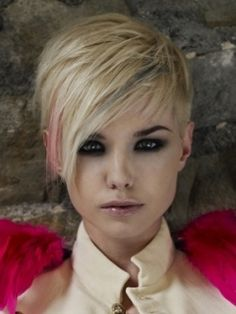 Short Layered Pixie With Long Bangs - Free Download Short Layered Pixie With Long Bangs #15945 With Resolution 240x320 Pixel   KookHair.com