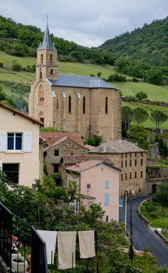 Peyre, Aveyron, France. Photo by Allan Harris.