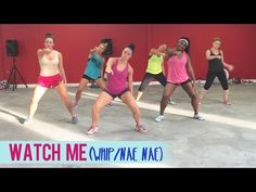 Silento - Watch Me (Whip/Nae Nae) | Dance Fitness with Jessica #WatchMeDanceOn - YouTube