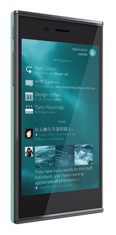 2013.05.20 |Jolla outs The Other Half: first Sailfish OS phone sports snap-on design and Android apps