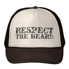Respect the beard trucker hat for men Turkey Hat 6de77fe8b