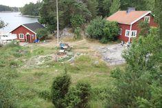 The old fishermnan's hut at Rödjan on Älgö island in Ekenäs archipelago, Raseborg, Finland