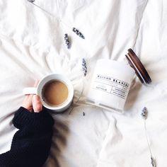 coffee - weekend reads - lavendar