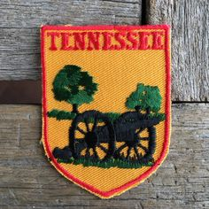 Tennesse Vintage Souvenir Travel Patch from Voyager - New In Original Package by HeydayRoadTrip on Etsy