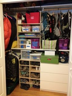 Hiking Gear Storage Have A Look At These Brilliant Conversion - Closet ideas for tent camping