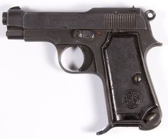 Lot 450: Berreta Mod. M1935/1944, .732/.32 Cal. Semi-Automatic Pistol (Serial #596499); World War II era Italian/German single action semi-automatic pistol having an eight round magazine