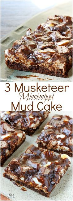 3 Musketeer Mississippi Mud Cake » Call Me PMc