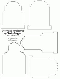 Tombstone Template & Other Fall Printables halloween patterns Moldes Halloween, Halloween Templates, Adornos Halloween, Manualidades Halloween, Halloween Patterns, Outdoor Halloween, Halloween Cards, Holidays Halloween, Scary Halloween