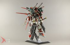 "Custom Build: PG 1/60 Gundam Astray Red Frame ""Raizen"" Full Armour Mode - Gundam Kits Collection News and Reviews"
