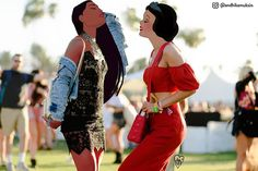 Disney Instagram celebs : Pocahontas + Snow-White @ Coachella