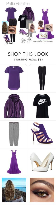 """phillip hamilton outfit"" by officialhamitlon on Polyvore featuring Dorothy Perkins, Warehouse, Patagonia, NIKE, Billabong, SJP, Michael Antonio and Mehron"