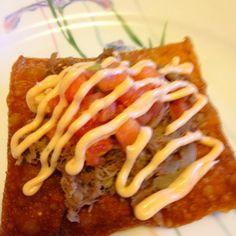 Kalua pork nacho recipe