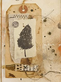 That's Crafty!: Celebrating Nature An Accordian Book by Lynne Moncrieff Paper Tags, Paper Clip, Accordian Book, Feather Painting, Handmade Books, Beautiful Textures, Art Journal Inspiration, Hang Tags, Tag Art