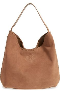 Tory Burch Marion Suede Hobo Available At Nordstrom