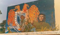 Los murales desaparecidos de la huelga de la UNAM 1999-2000 (fotos)