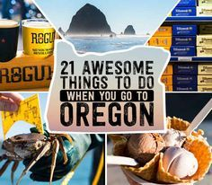 21 Awesome Things To Do When You Go To Oregon Got a long weekend to explore Portland and the Oregon Coast? Here's a step-by-step guide from a Great Northwest native (me) who's sampled a lot of what Oregon has to offer. Oregon Vacation, Oregon Road Trip, Oregon Trail, Road Trips, Oregon Camping, Oregon Usa, Oregon Coast, Portland Oregon, Travel Portland