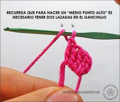 Corazones a Crochet (foto-tutorial) - PATRONES VALHALLA  Patrones gratis de  ganchillo 40e431273a3b