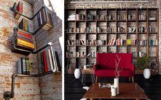 50 ejemplos para decorar con estanterías originales, modernas o curiosasDecofilia.com