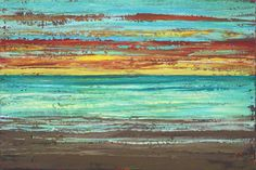 Image result for abstract beach paintings