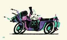 Illustrations by Steve Scott | Inspiration Grid | Design Inspiration