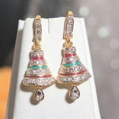 multicolor  earring