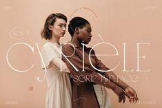 Cyriele - Elegant Display Serif by Madebysté Studio on @creativemarket Cyrièle is a thin, chic, modern and creative serif font that is really unique because lowercases and uppercases have the SAME HEIGHT. This allows infinite combinations to give your project a unique style! Give your text a bit of elegance and personality. Cyrièle includes also CATCHWORDS to play with. Combine catchwords, mix and match uppercases and lowercases to enjoy it's full potential. Typography Fonts, Lettering, Typography Design, Serif Font, Web Design, Graphic Design, Brand Design, Modern Design, Logo Design