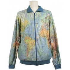 World map jacket inspiration pinterest map jacket gumiabroncs Choice Image
